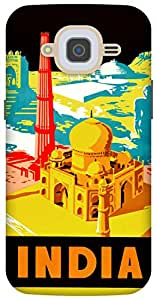 The Racoon Lean indian monuments hard plastic printed back case/cover for Samsung Galaxy J2 (2016)