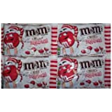 White Chocolate Peppermint M&M Candies  9.9 oz Bags, 4 Pack