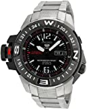 SEIKO 5 Men's 20 ATM All Stainless Steel Automatic Mile Marker Watch. Model: SKZ229K1