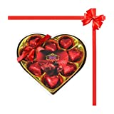 Skylofts Heart With Heart Shaped Chocolates Combos (with Teddy & Miss You Card)