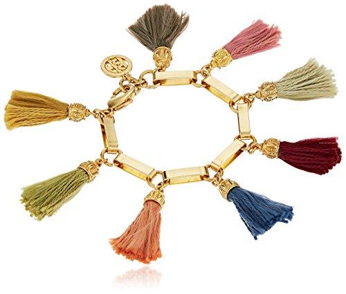 Ben-Amun Jewelry Tassel Charm Bracelet