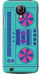 Kasemantra Classic Radio Case For Samsung Galaxy S4 Mini I9190