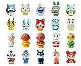 すくい人形 アンパンマン・ドラえもん・妖怪ウォッチ 20種類セット /お楽しみグッズ(紙風船)付きセット[おもちゃ&ホビー]