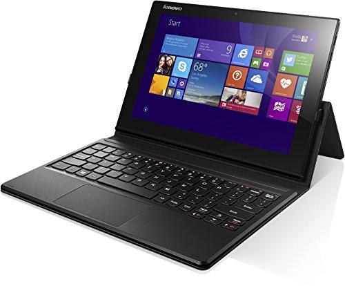 Lenovo MIIX 3-1030 25,7 cm (10,1 Zoll FHD TN) Convertible Tablet-PC (Intel Atom Z3735F, 1,86GHz, 2 GB RAM, 32GB eMMC, Touchscreen, Win 8.1) schwarz
