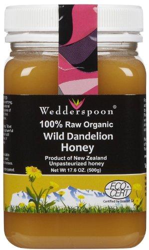 Certified Organic Dandelion Honey 17.60 Ounces