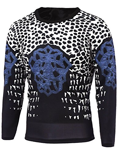 dragonpad-mens-leopard-printed-casual-pullover-british-style-sweatshirt-slim-fit-long-sleeve-t-shirt