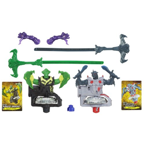 Beyblade Shogun Steel BeyWarriors Dark vs. Water Element 2-Pack - 1