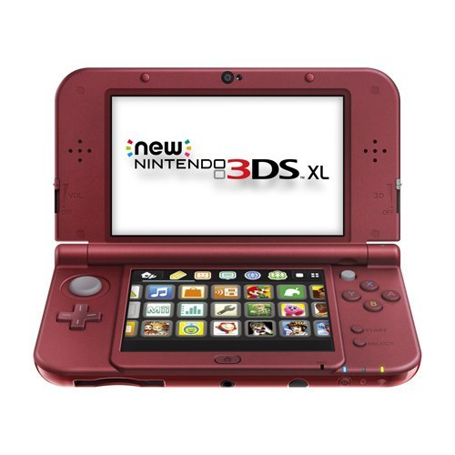 Nintendo New 3DS XL Red JungleDealsBlog.com