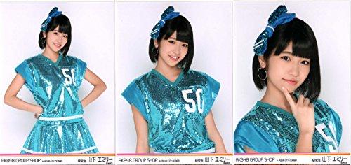 AKB48 グループショップ in AQUA CITY ODAIBA 生写真 3種コンプ 山下 エミリー