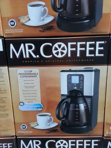 Mr.coffee 12-cup Programmable Coffee Maker
