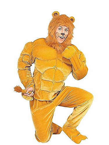 Macho Cowardly Lion Wizard Of Oz Halloween Costume