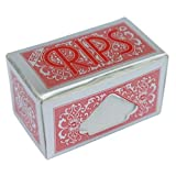 RIPS REGULAR RED CIGARETTE PAPERS ROLLS - 6 ROLLS BY TRENDZ