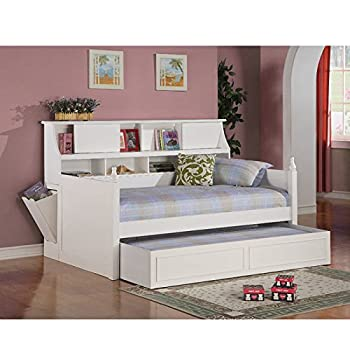 Coaster Twin Daybed S Rails Box 1-White