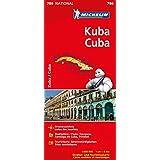 Michelin Kuba: Straßen- und Tourismuskarte 1:800.000 (MICHELIN Nationalkarten)