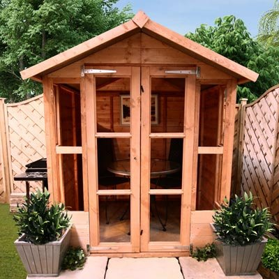 5FT x 5FT HAVANA TONGUE & GROOVE SUMMERHOUSE