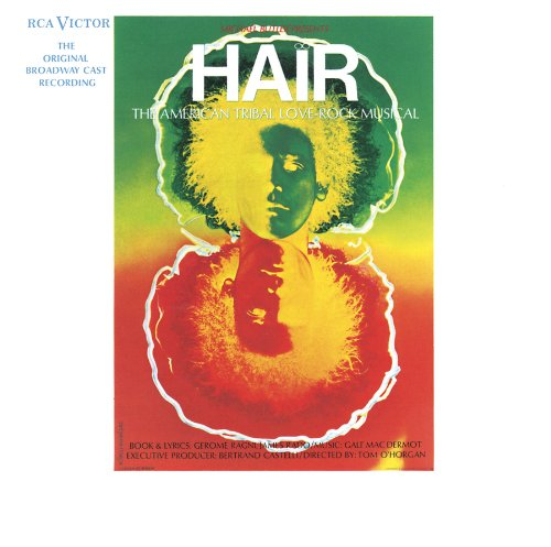 Original album cover of Hair [Original Broadway Cast Recording] by HAIR broadway cast