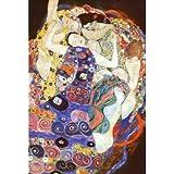Virgin People Poster Print by Gustav Klimt, 24x36 College Poster Print by Gustav Klimt, 24x36