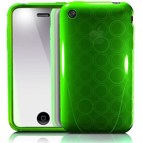 【正規品】 iSkin ソフトケース solo FX for iPhone 3G/3GS Green SOVB3G-GN