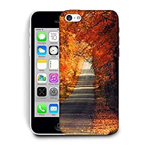 Snoogg Orange Trees Printed Protective Phone Back Case Cover For Apple Iphone 6+ / 6 Plus