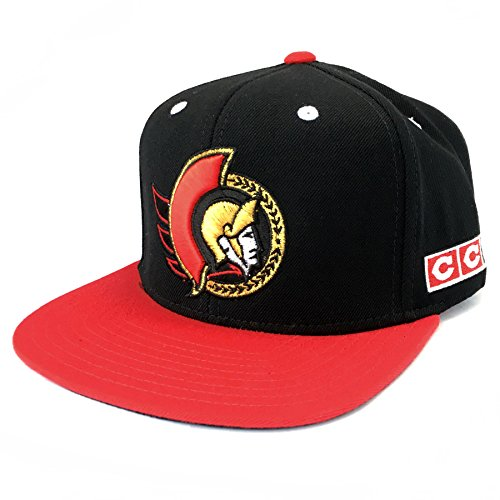 Ottawa Senators CCM Vintage 2-Tone Snapback Cap 0