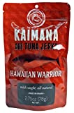 "Kaimana Jerky - The people of Hawai'i have sustained their families and respected the Pacific oceans powerful life force for centuries. In the Hawaiian language ""kaimana"" translates to ""the power of the sea."" Kaimana Jerky has embraced the ancient art of drying fish to give our jerky a great taste for the modern lifestyle. Our variety of Ahi Tuna Jerky flavors are delicately prepared, dried to perfection, and seasoned with quality ingredients. Handcrafted with Aloha for 25 years!"