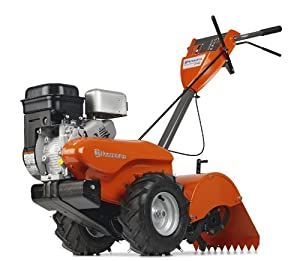 Husqvarna CRT900 14-Inch Briggs & Stratton 900 Series Gas Powered Counter Rotation Rear Tine Tiller