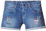 UCB Kids Girls' Shorts (15A4AC6597T0G901_Blue_EL)