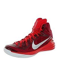 Nike Men's Hyperdunk 2014 TB, Gym Red/Metallic Silver-Bright Crimson