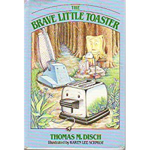 Image: The Brave Little Toaster: A bedtime story for small appliances, by Thomas M. Disch. Illustrated by Karen Schmidt. Publisher: Doubleday; 1st edition (April 2, 1986)