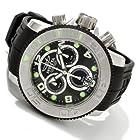 Invicta Men's 1063 Sea Hunter Chronograph Black Carbon Fiber Dial Black Polyurethane Watch