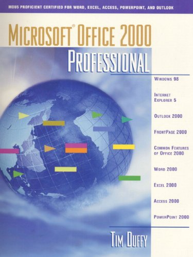 Microsoft Office 2000 Professional Certified Edition