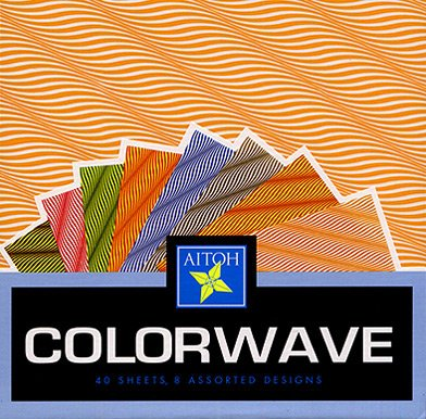 Colorwave Origami Paper