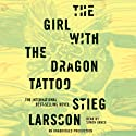 The Girl with the Dragon Tattoo: The Millennium Trilogy, Book 1 (       UNABRIDGED) by Stieg Larsson Narrated by Simon Vance