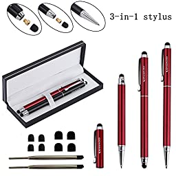 Stylus,iDream365(TM) 2pcs 3-in-1 Stylus Pens(5.7\