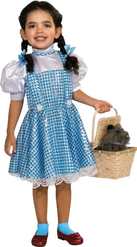 Wizard Of Oz Dorothy Sequin Costume, Toddler 1-2 (75Th Anniversary Edition) front-494129