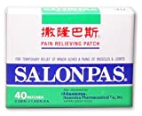 Salonpas Pain Relieving Patch 40 Patches
