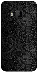 Timpax protective Armor Hard Bumper Back Case Cover. Multicolor printed on 3 Dimensional case with latest & finest graphic design art. Compatible with HTC M9 Design No : TDZ-25516