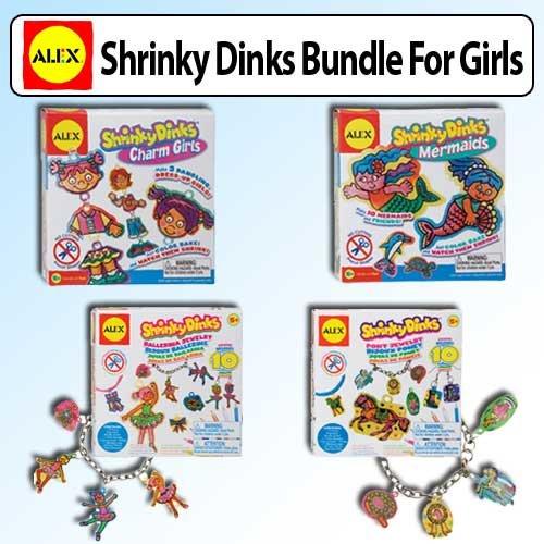 Shrinky Dinks Bundle For Girls
