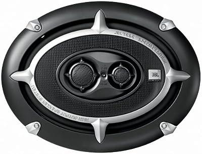 JBL T 696 l Car-Hifi High-End 3-Wege Lautsprecher (450 Watt, 93 dB) silber/schwarz von JBL Elektronik bei Reifen Onlineshop