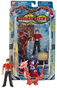 Kamen Rider Dragon Knight TV Series 4 Inch Tall Action ...