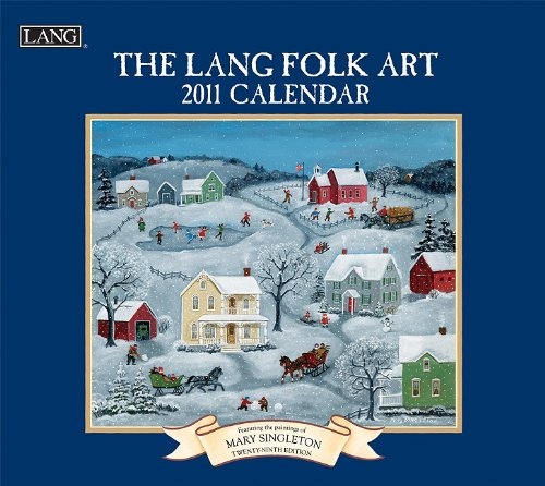 Lang Folk Art Calendar : Office products art