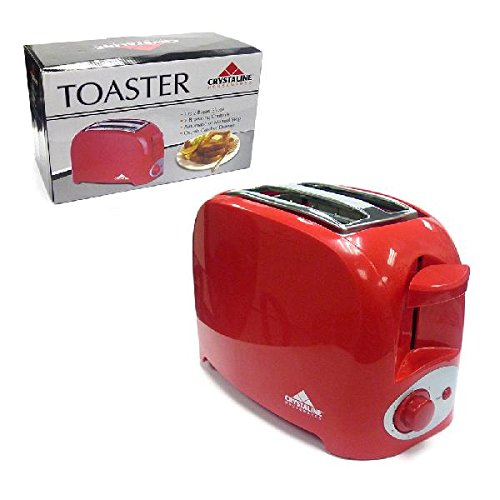Toaster 2 Slice-Red Toaster,For Home and Kitchen,College Dorm Room Accessories