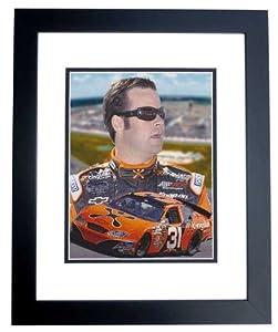 Robby Gordon Unsigned Cingular Racing 8x10 inch Photo - BLACK CUSTOM FRAME by Real Deal Memorabilia