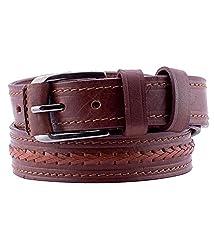 Coconut Men's Belt (belt028_Brown_X-Large)