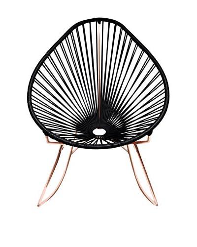 Innit Designs Acapulco Rocker, Black/Copper