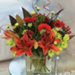 Passion Explosion Christmas Bouquet