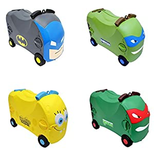 Vrum Ride-On Toy Box Suitcases