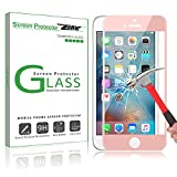 Zenic【二枚, ローズゴールド】iPhone 6/ iPhone 6s(4.7インチ)3D全面究極強化ガラスフィルム 疎油撥水  0.3mm3D強化ガラスフィルム 硬度9H (9H 0.3mm 3D) スクリーンプロテクター 液晶保護 指紋防止