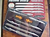 Forever Sharp Platinum Series 8 Pc Surgical Stainless Steel Knives