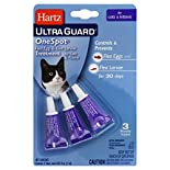 Hartz UltraGuard One Spot Treatment, Flea Egg & Flea Larvae, for Cats & Kittens, 3 - 0.03 fl oz (1 ml) tubes